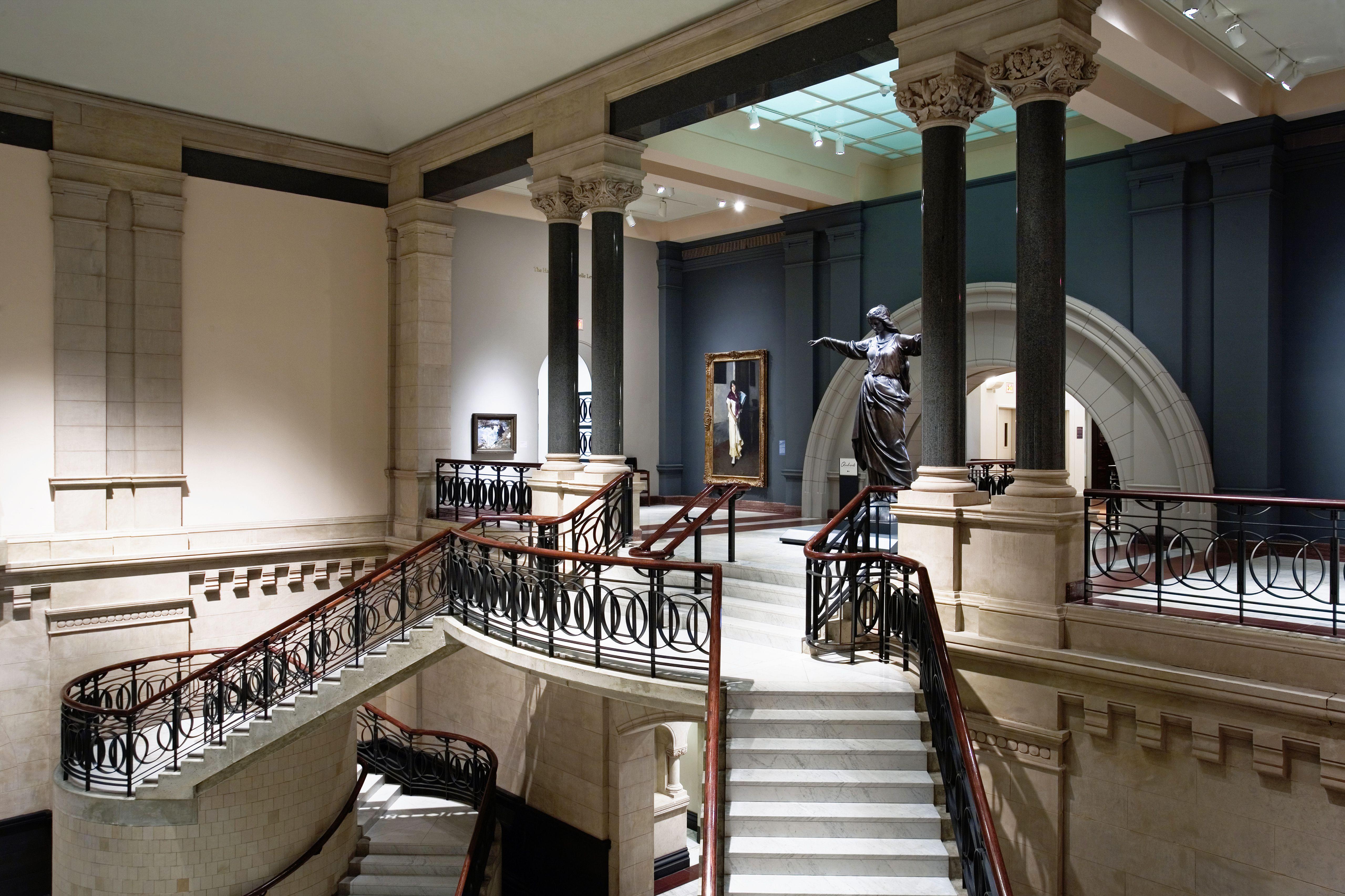 The Great Hall at the Cincinnati Art Museum