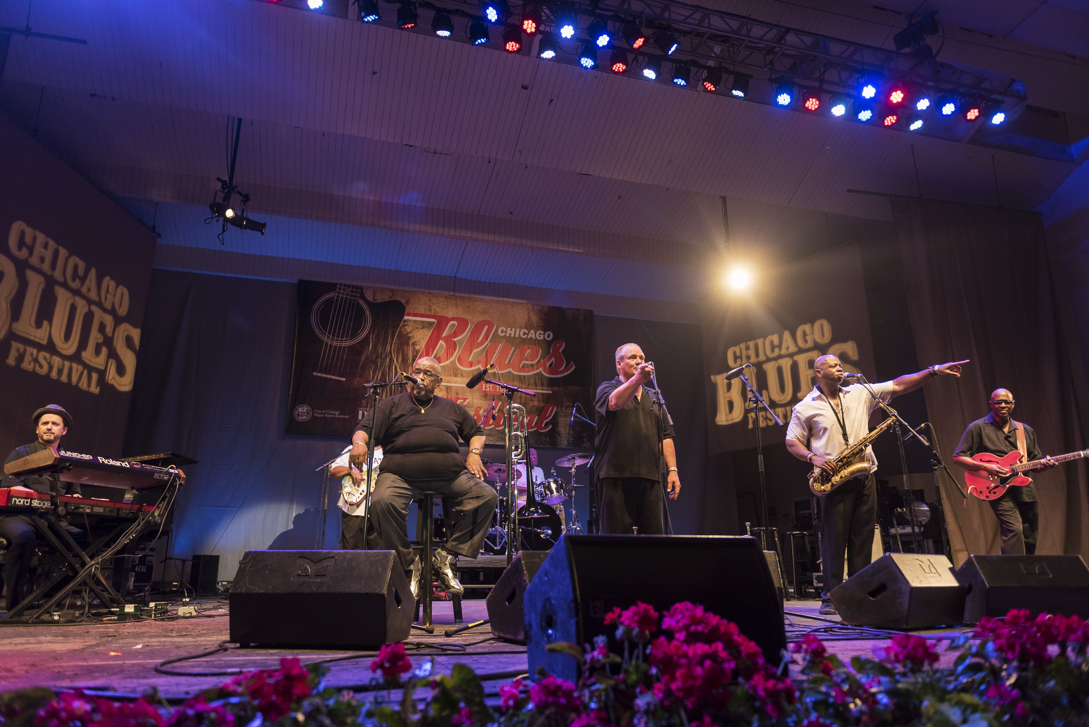 Fred Wesley & The New JBs At Chicago Blues Fest