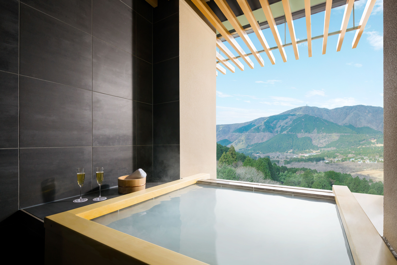 Sengokuhara hotspring tub