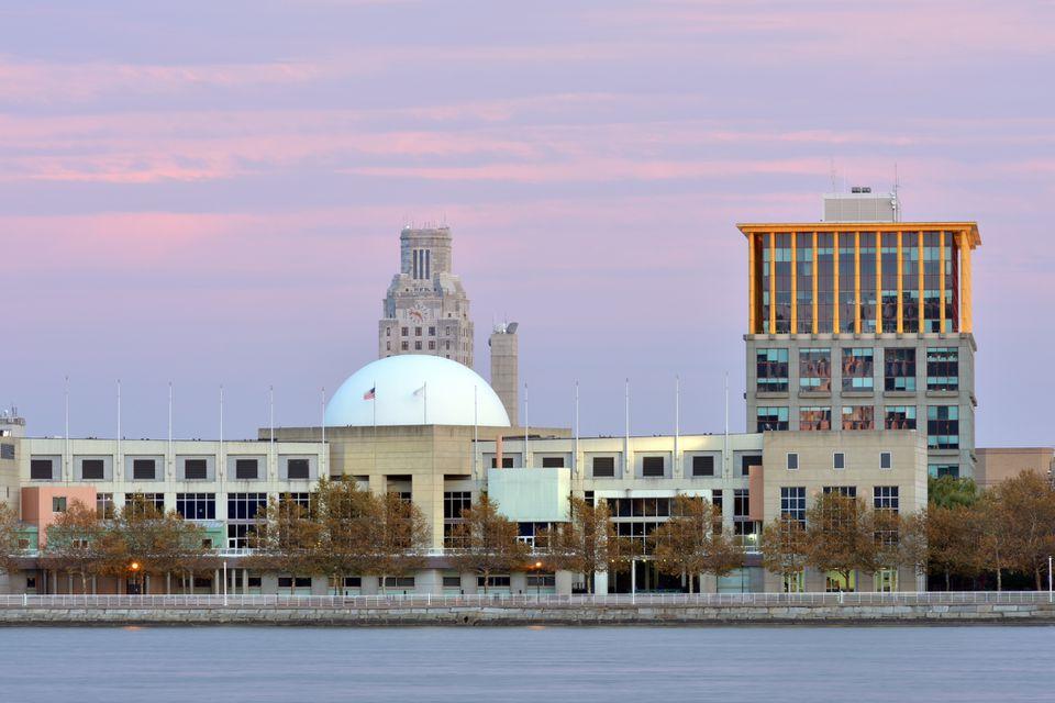 Camden, NJ waterfront
