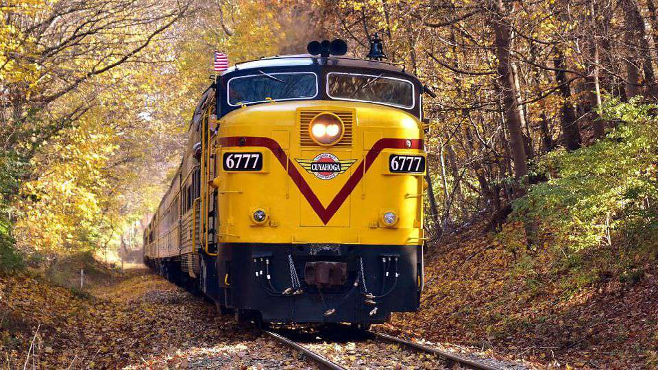 Cuyahoga Valley Scenic Railroad train