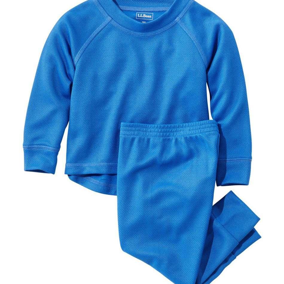L.L. Bean Toddlers' Wicked Warm Midweight Underwear Set