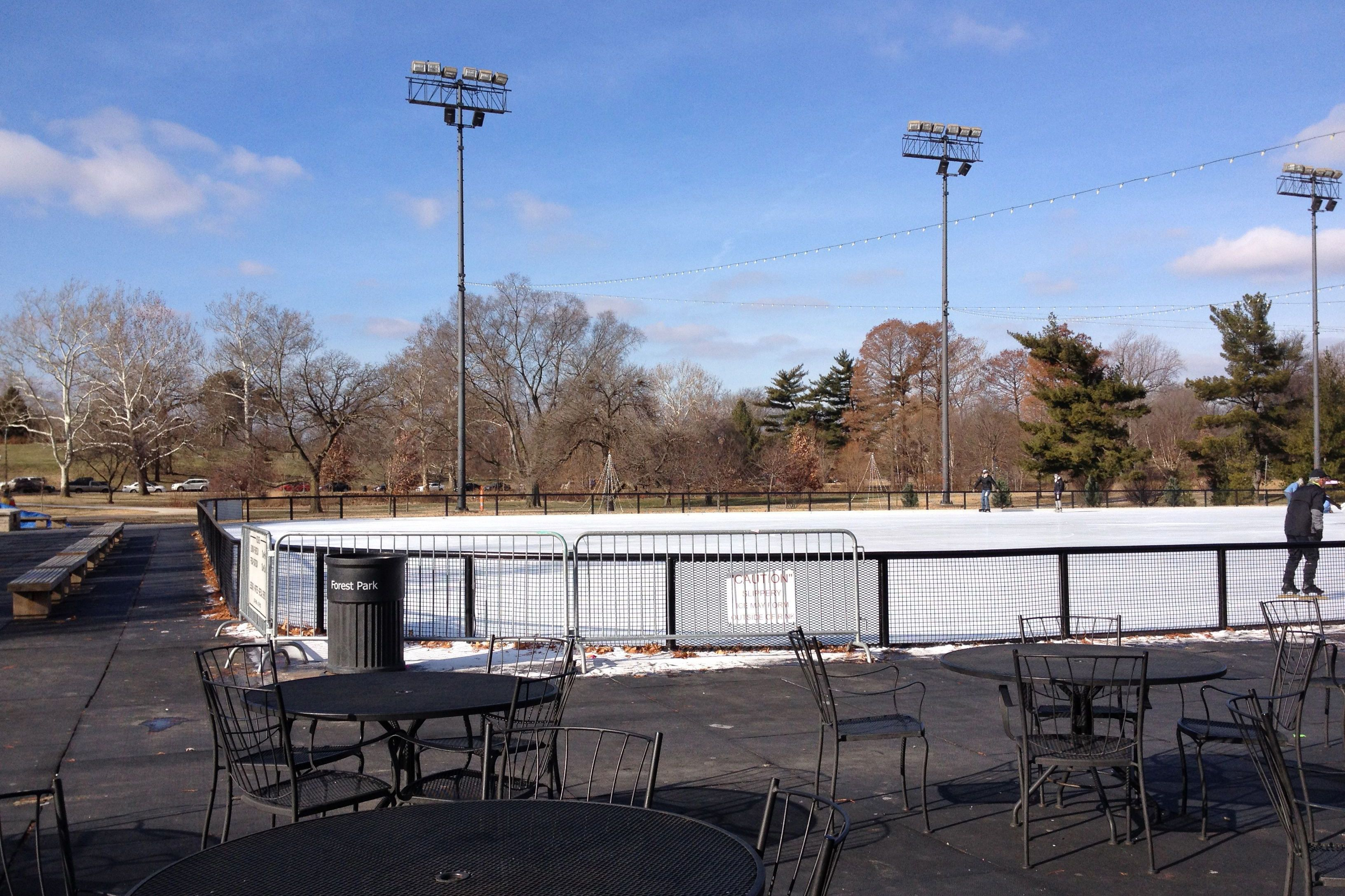 Steinberg Stating Rink in Forest Park