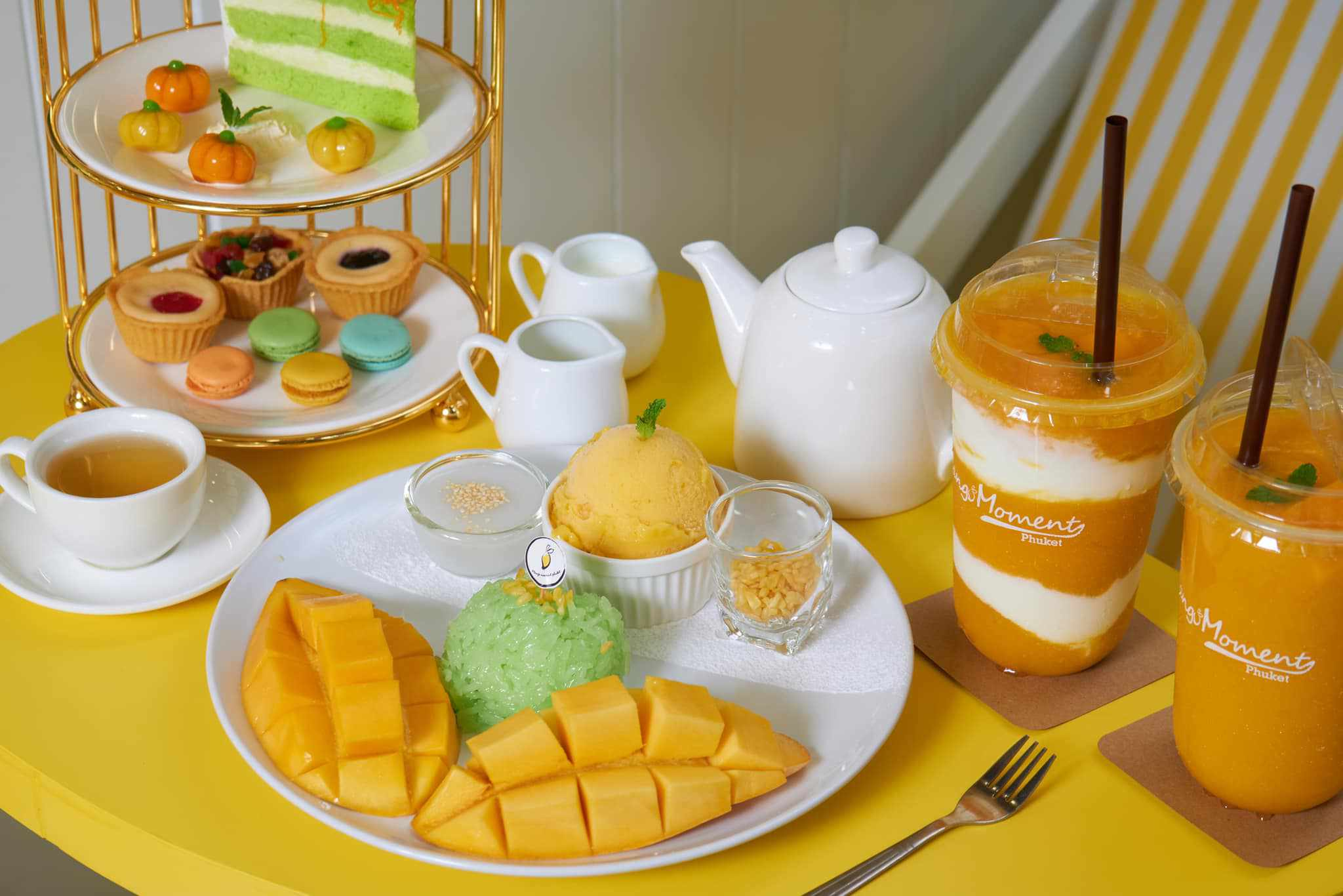 Mango Moments' mango sticky rice