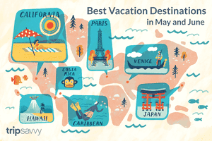 Best Vacation Destinations in May & June