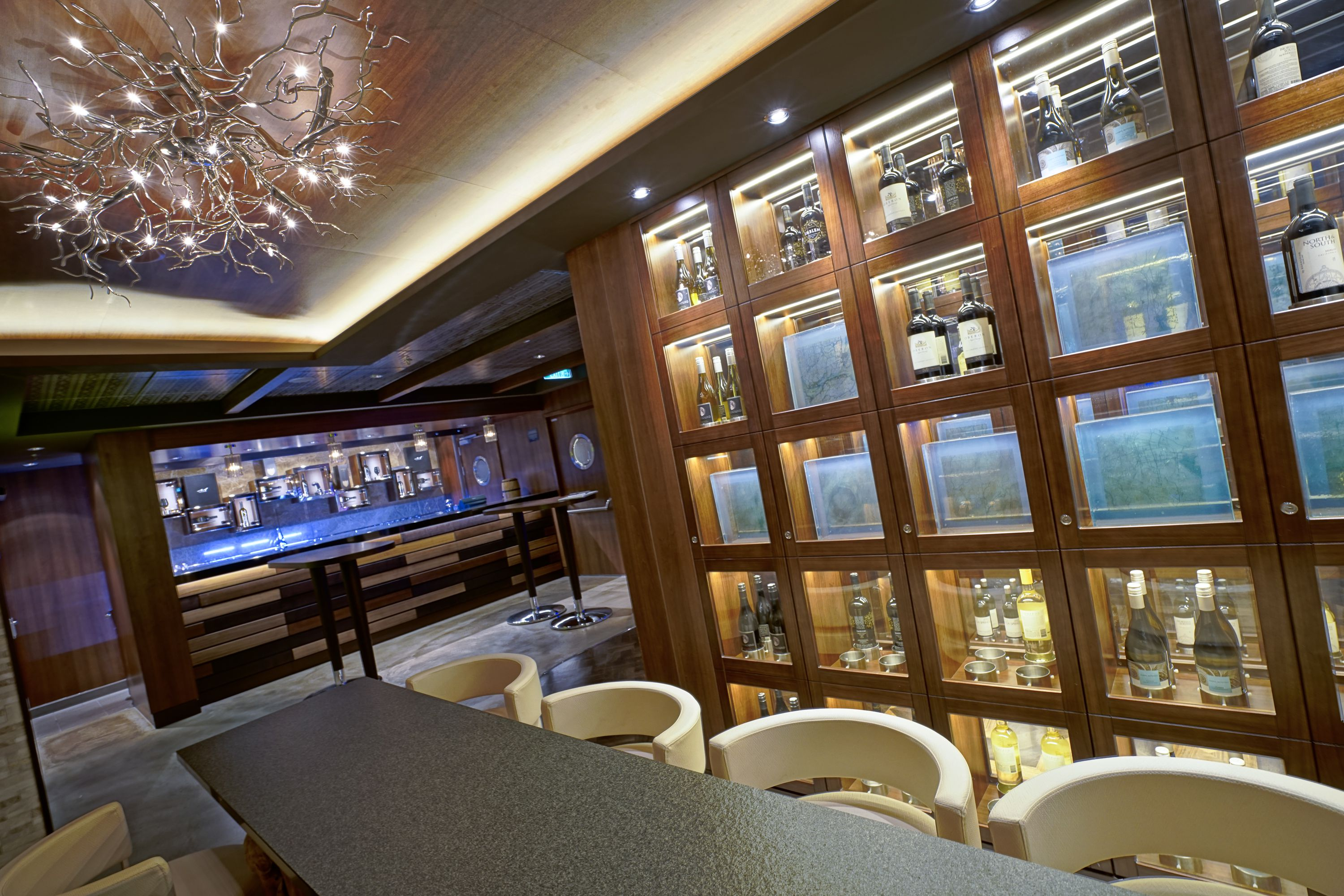 The Cellars Wine Bar on the Norwegian Escape