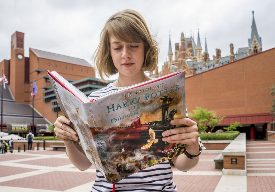Harry Potter British Library