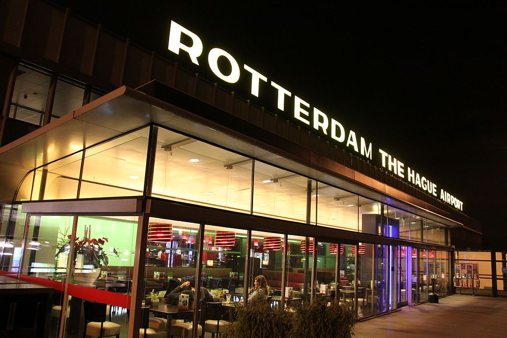 Panoramadek van Rotterdam The Hague Airport