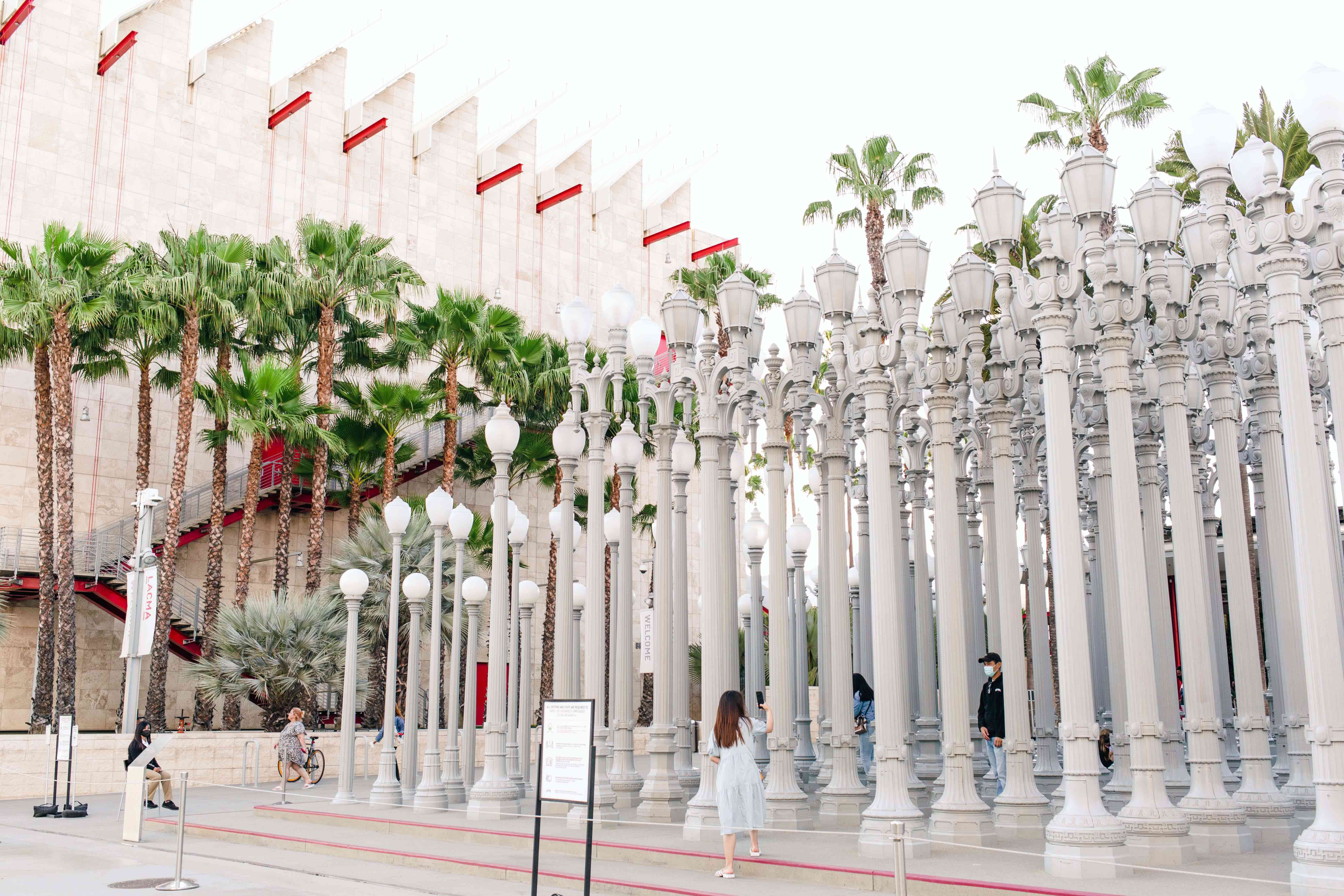 The Los Angeles County Museum of Art (LACMA) in California