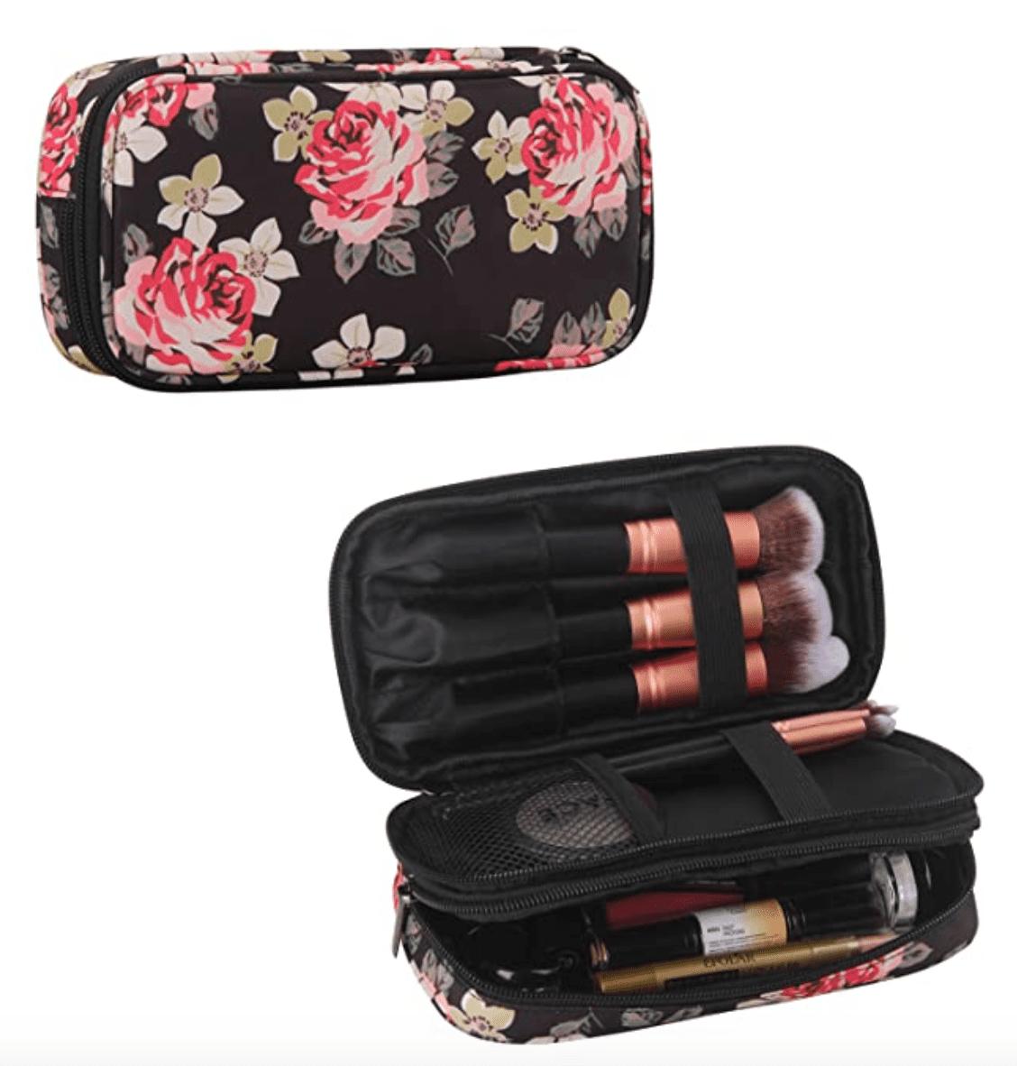 Monstina Makeup Bag with Mirror
