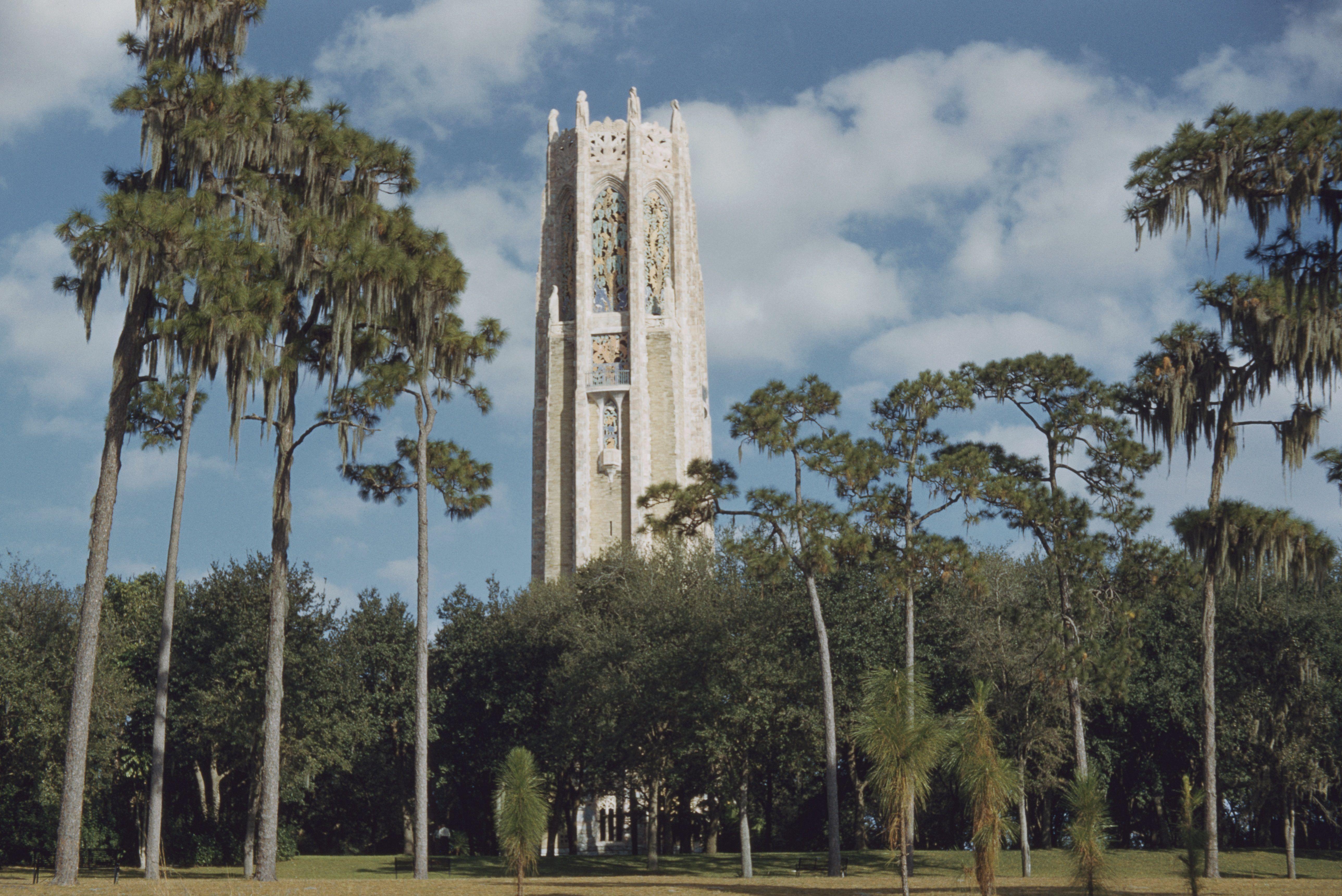 Bok Tower in Bok Tower Gardens, Florida,