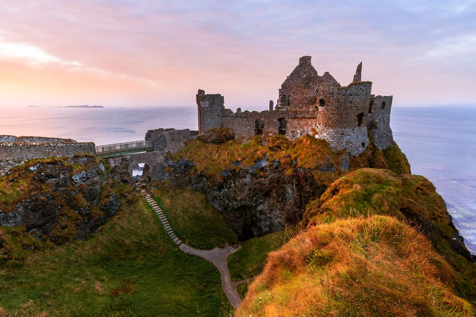 Castillo de Dunluce, Condado de Antrim, Irlanda del Norte