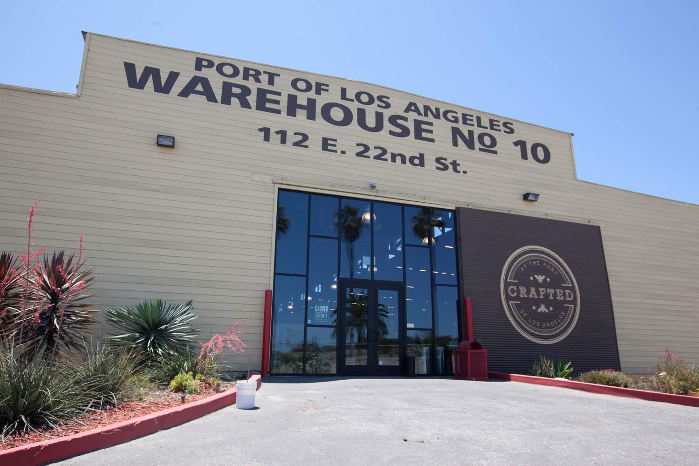 Hecho a mano en el puerto de Los Ángeles