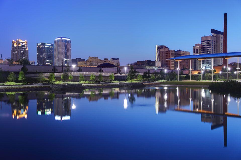 Birmingham, AL skyline