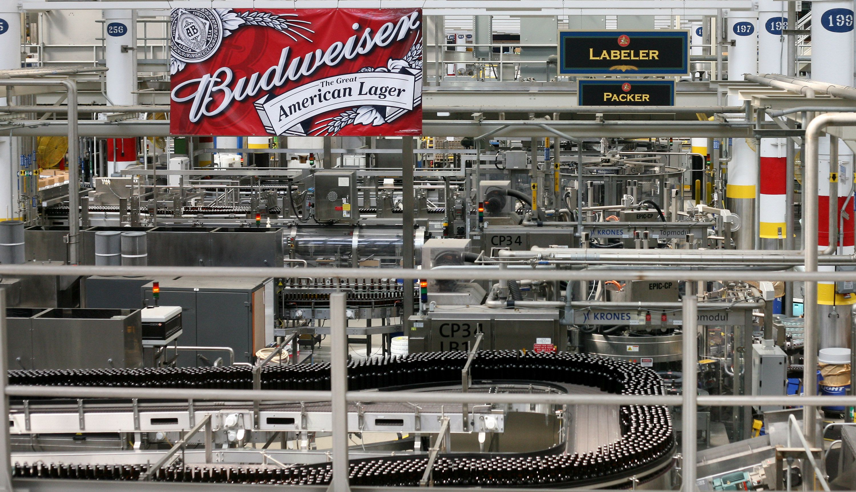 budweiser bottling lines