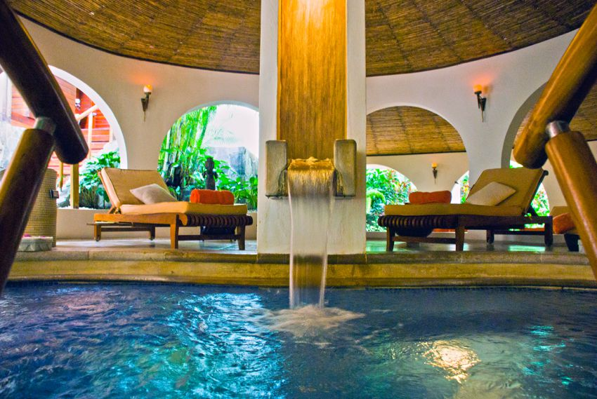 Tabacon Hot Springs Resort In Costa Rica Volcanic Water