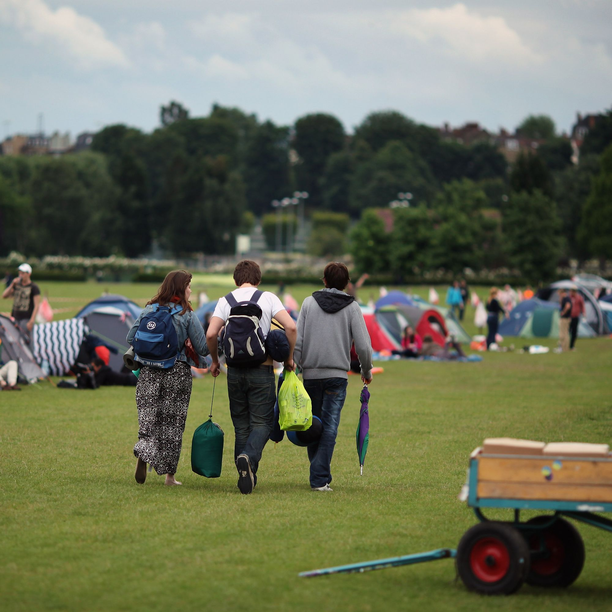 How to Camp for Wimbledon Tickets