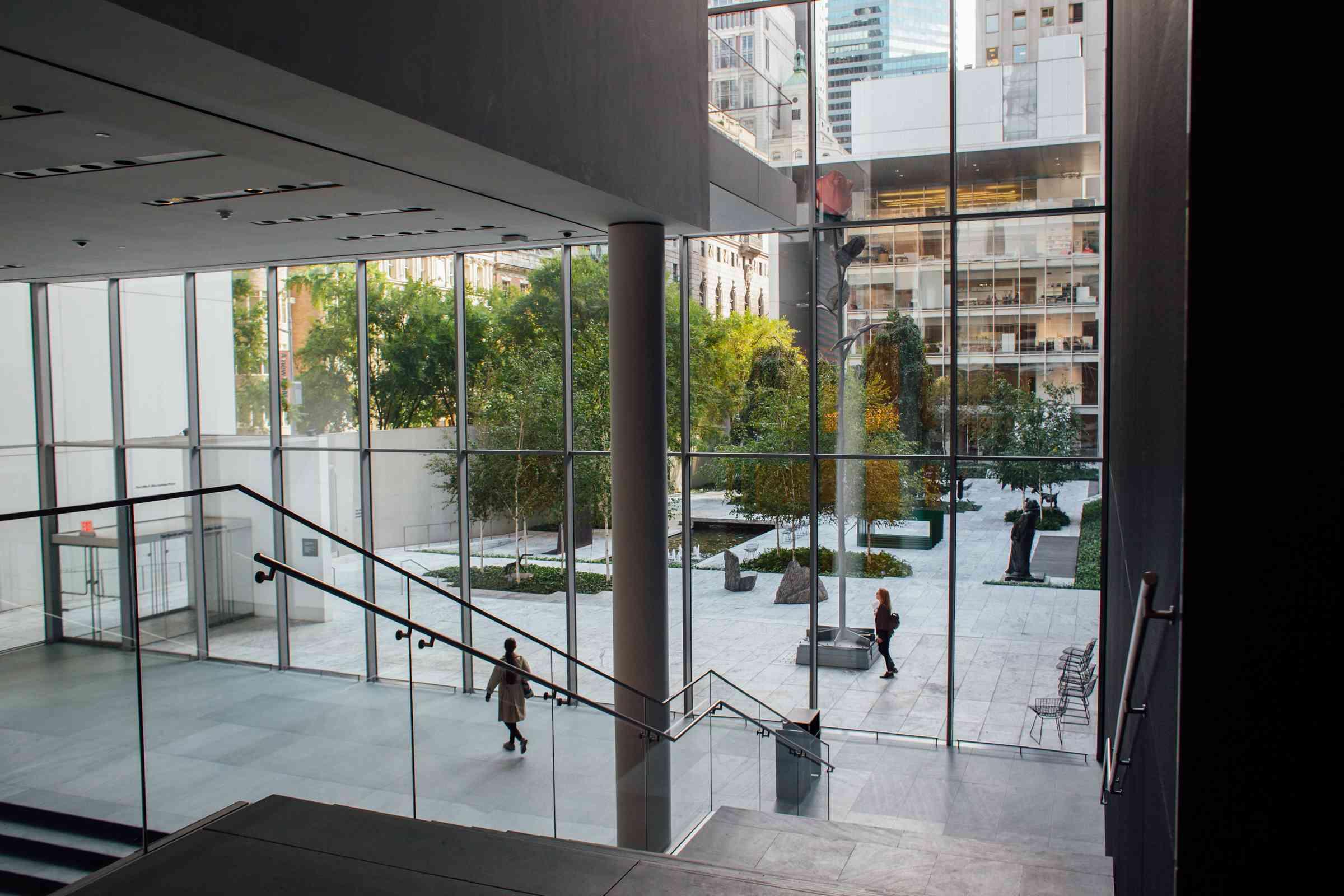 The MOMA in New York City, NY
