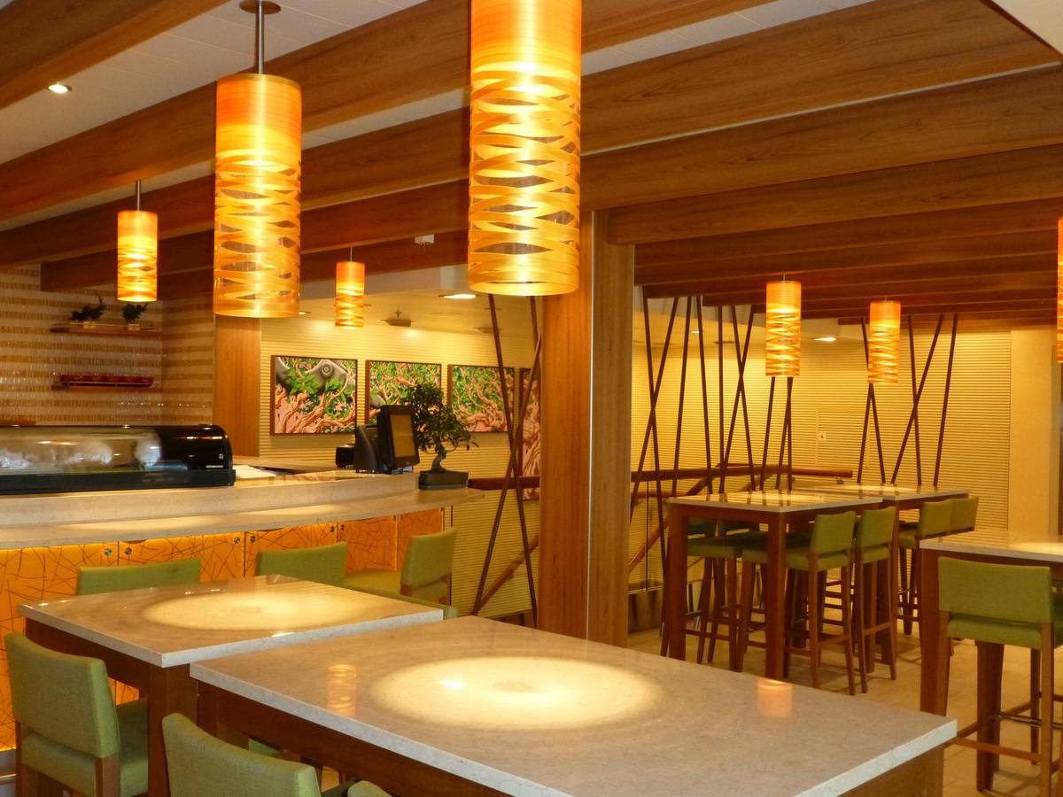 Carnival Breeze Dining - Bonsai Sushi Bar