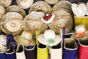 St. Lucian baskets