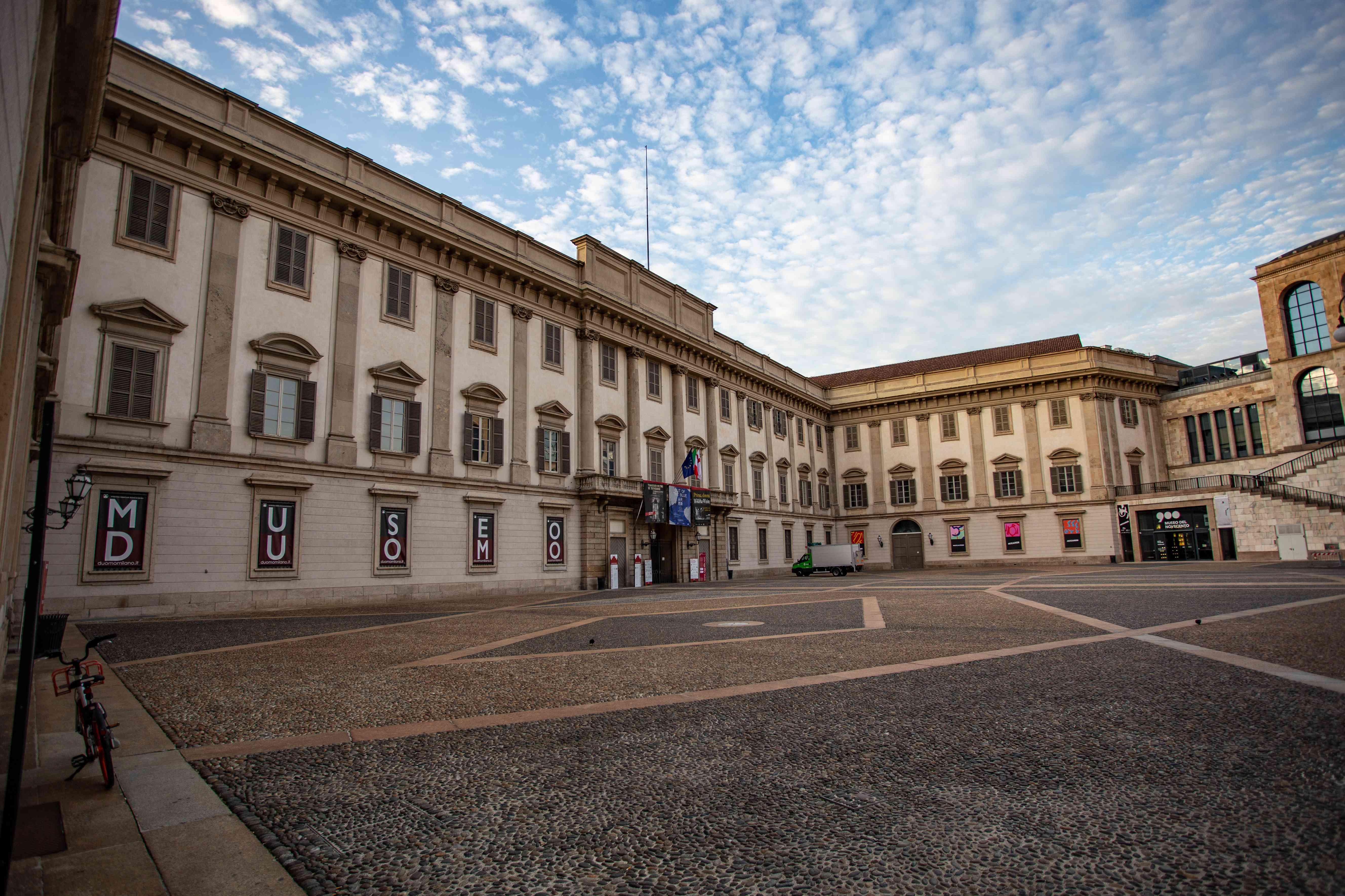 The Royal Palace of Milan, Italy