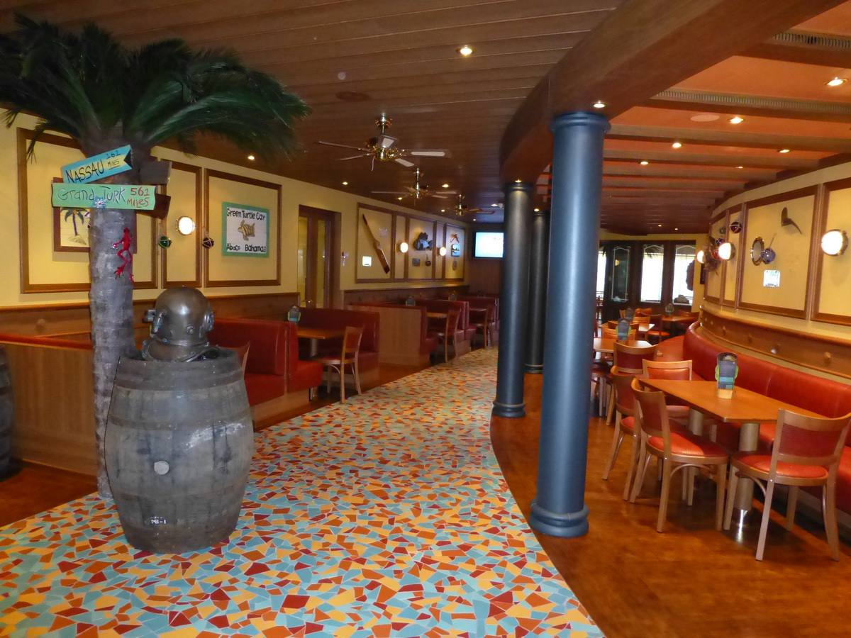 RedFrog Pub on the Carnival Breeze cruise ship