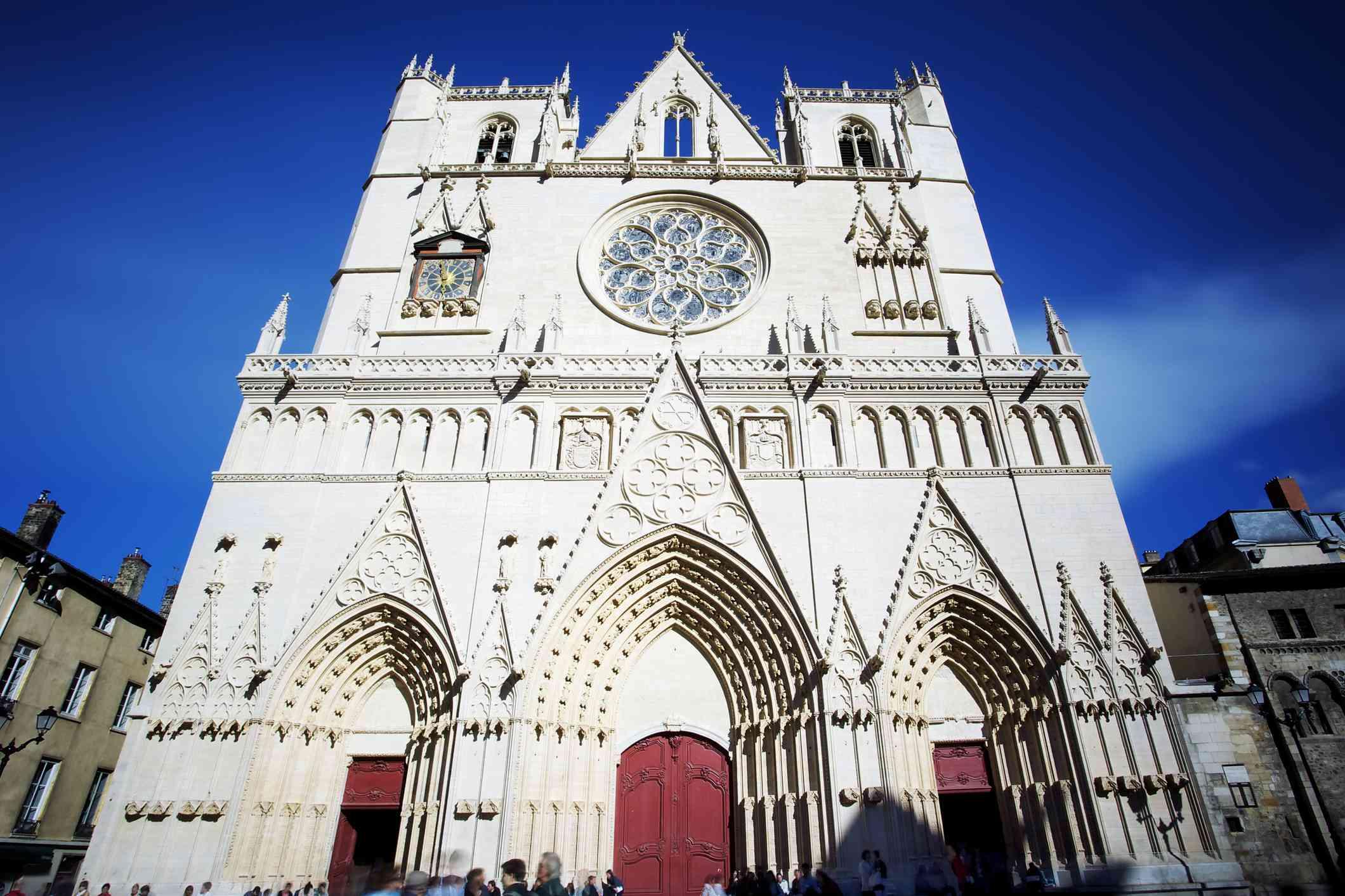 Cathédrale Sainte-Jean Baptiste, Lyon