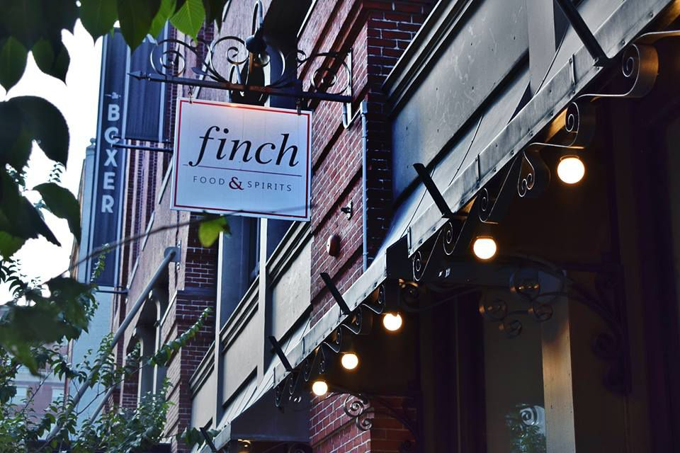 The Finch Restaurant at The Boxer Hotel in Boston