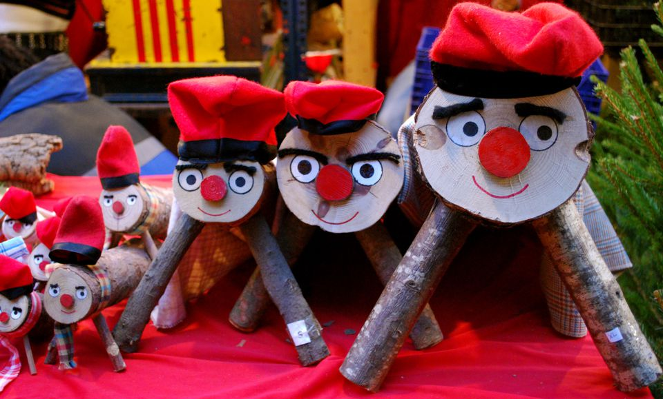 cagatios in barcelona spain - Christmas Traditions In Spain