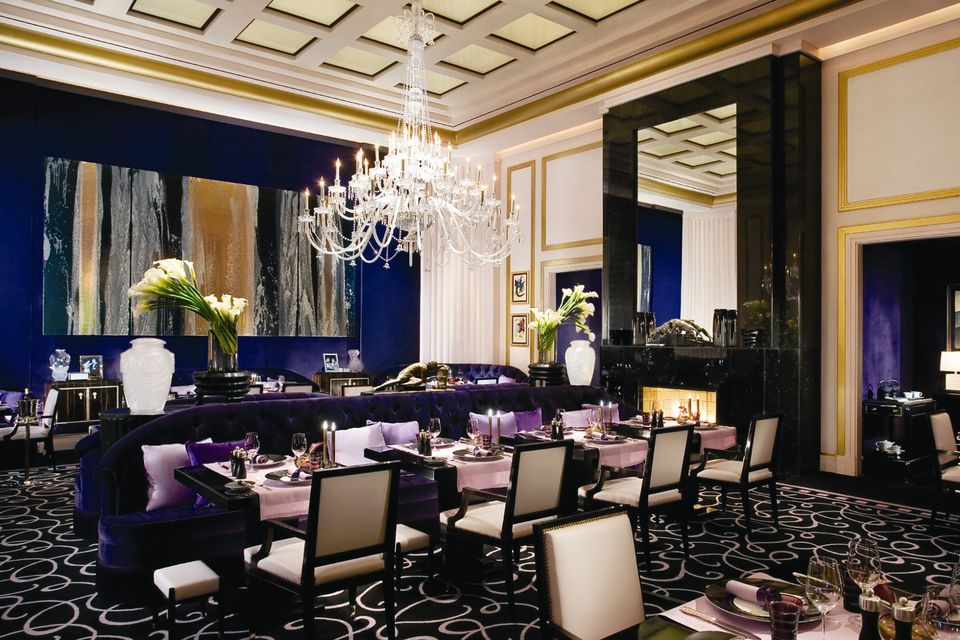 The Luxe Dining Room At Joël Robuchon Las Vegas