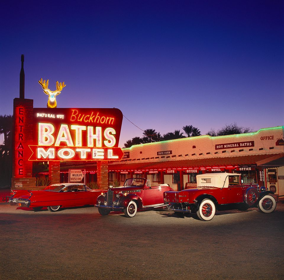 At the Buckhorn Baths in Mesa, Arizona
