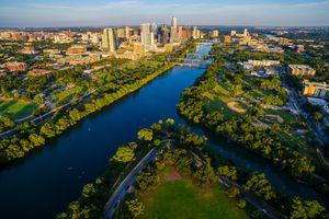 Zilker Park in Austin Texas