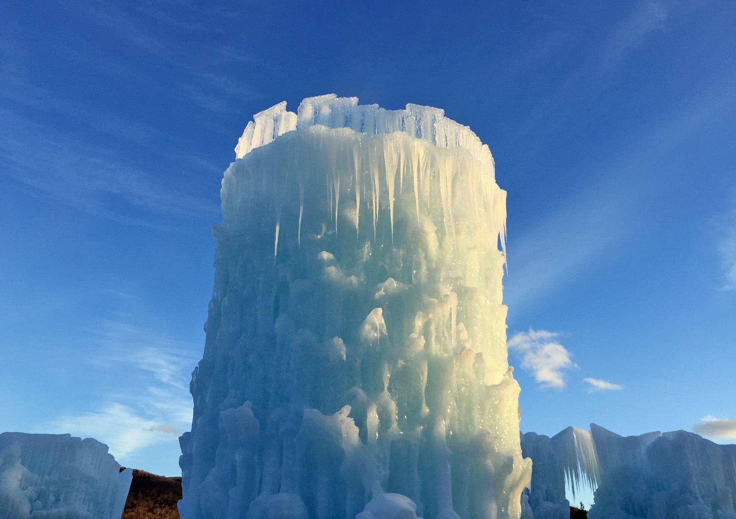Ice Castles NH Tower