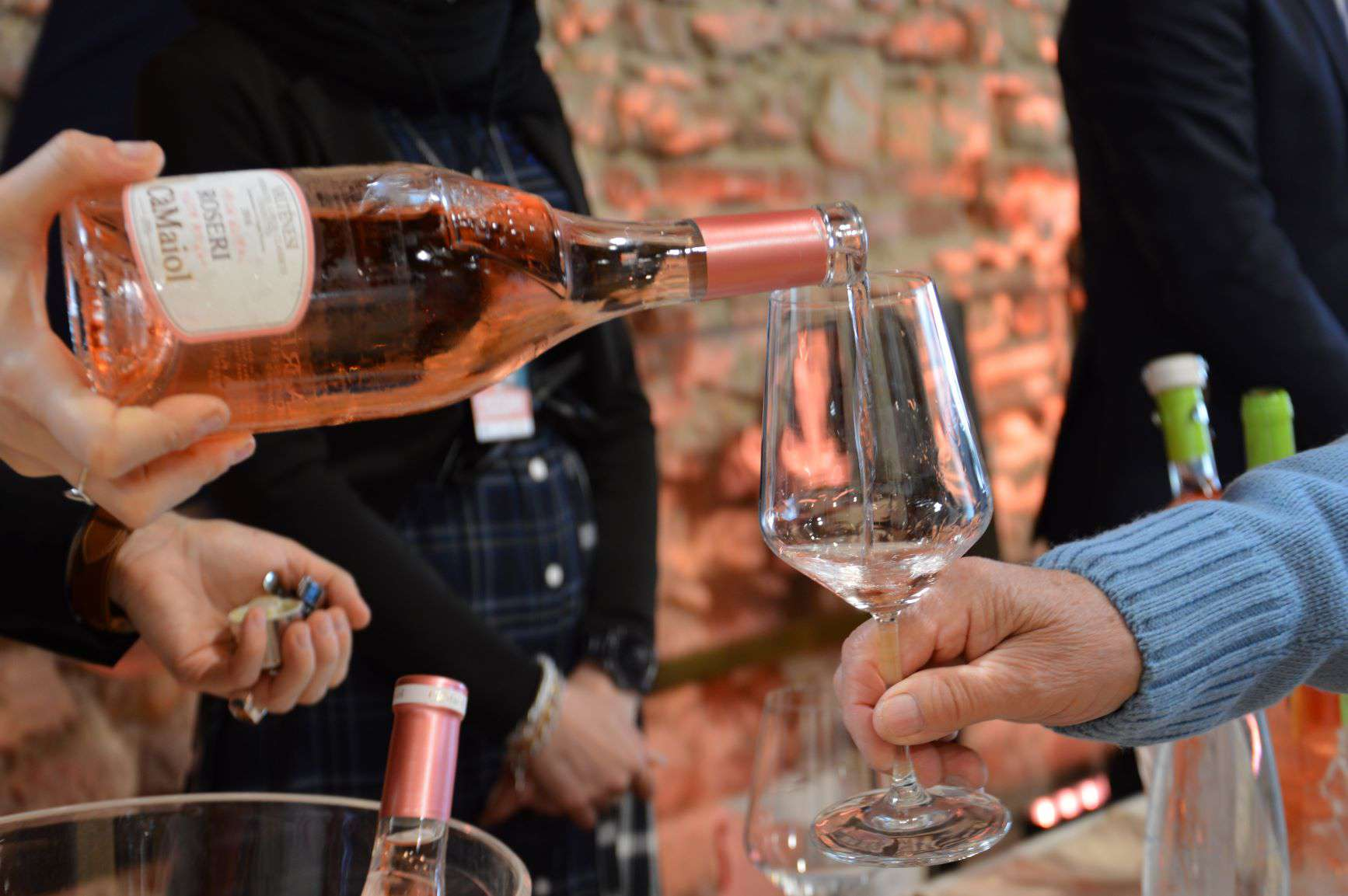 Rose tasting with Pagus Wine Tours