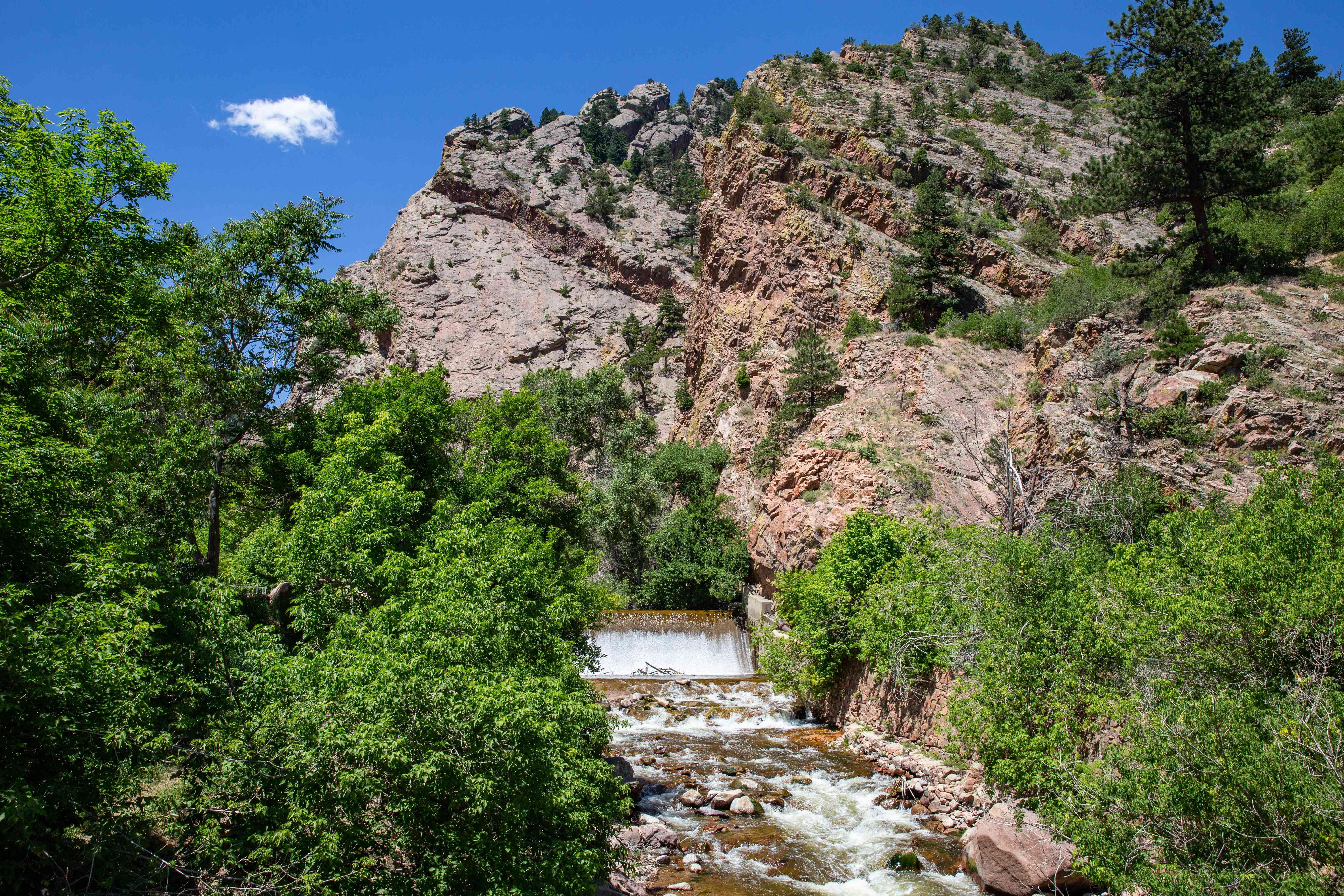 Eldorado Canyon State Park in Colorado