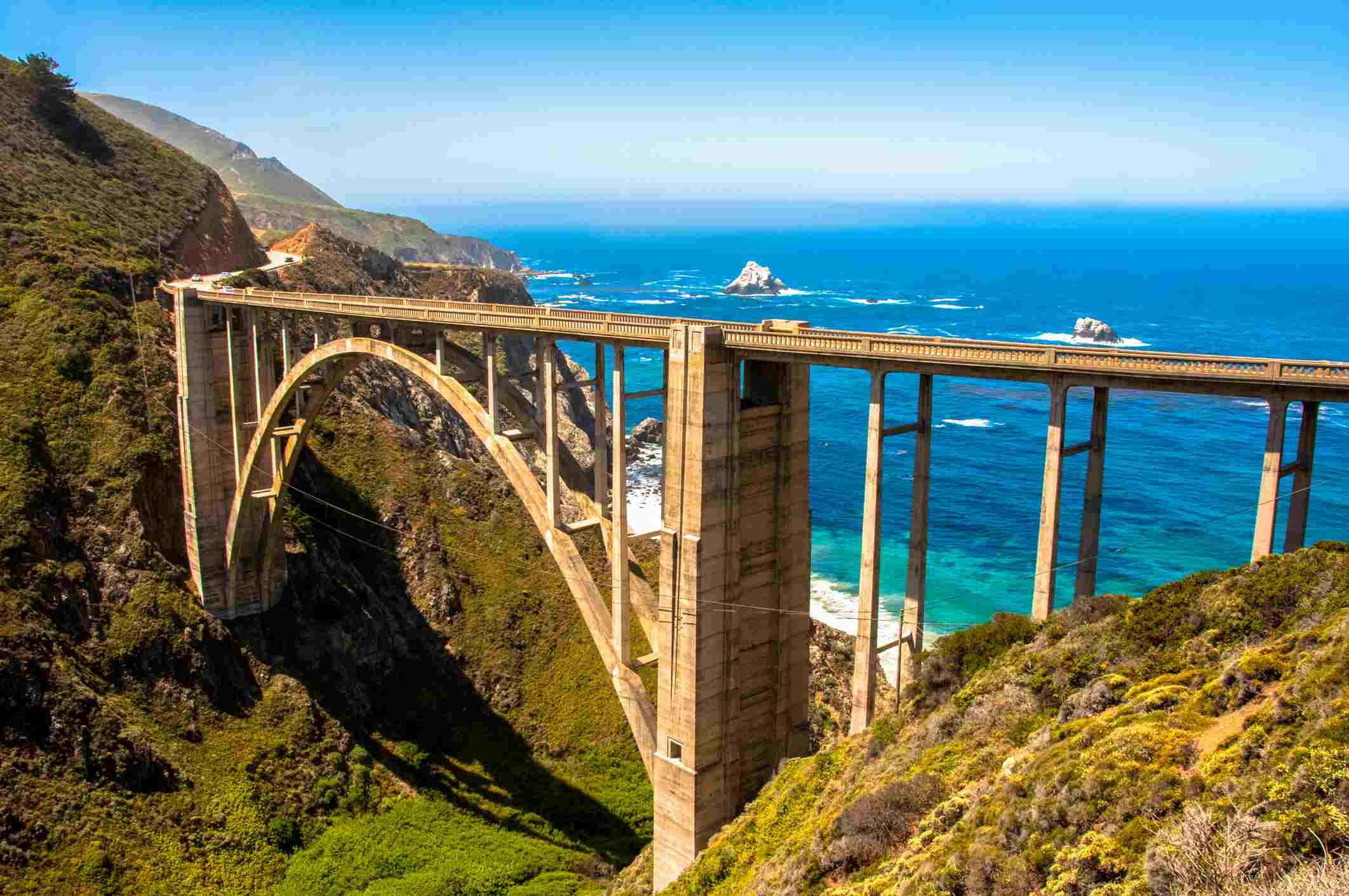 Pacific Coast Highway - from San Francisco to San Diego