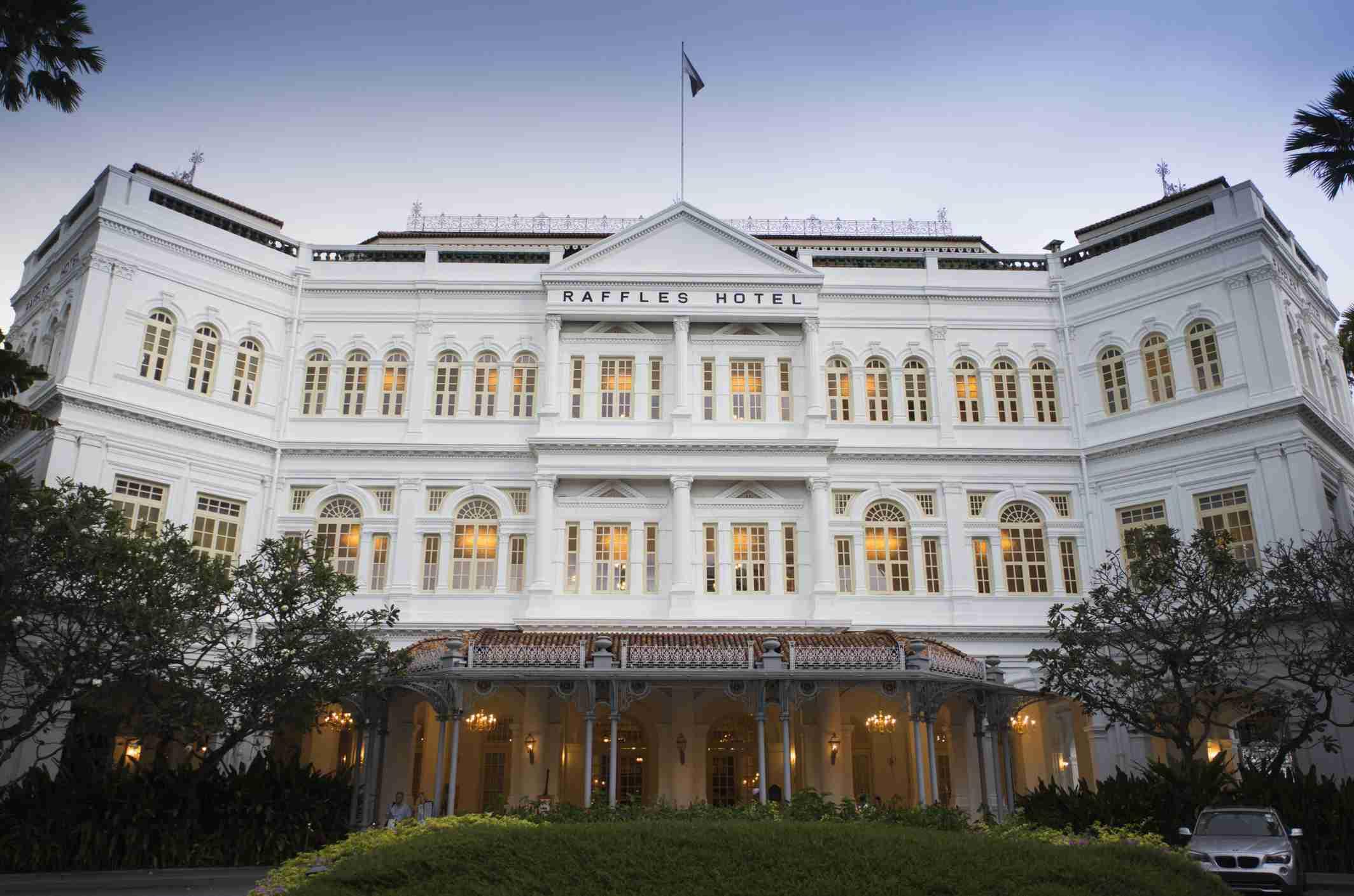 Singapore, Raffles Hotel, Exterior