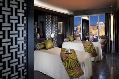 couples suites at The Spa at Mandarin Oriental Las Vegas