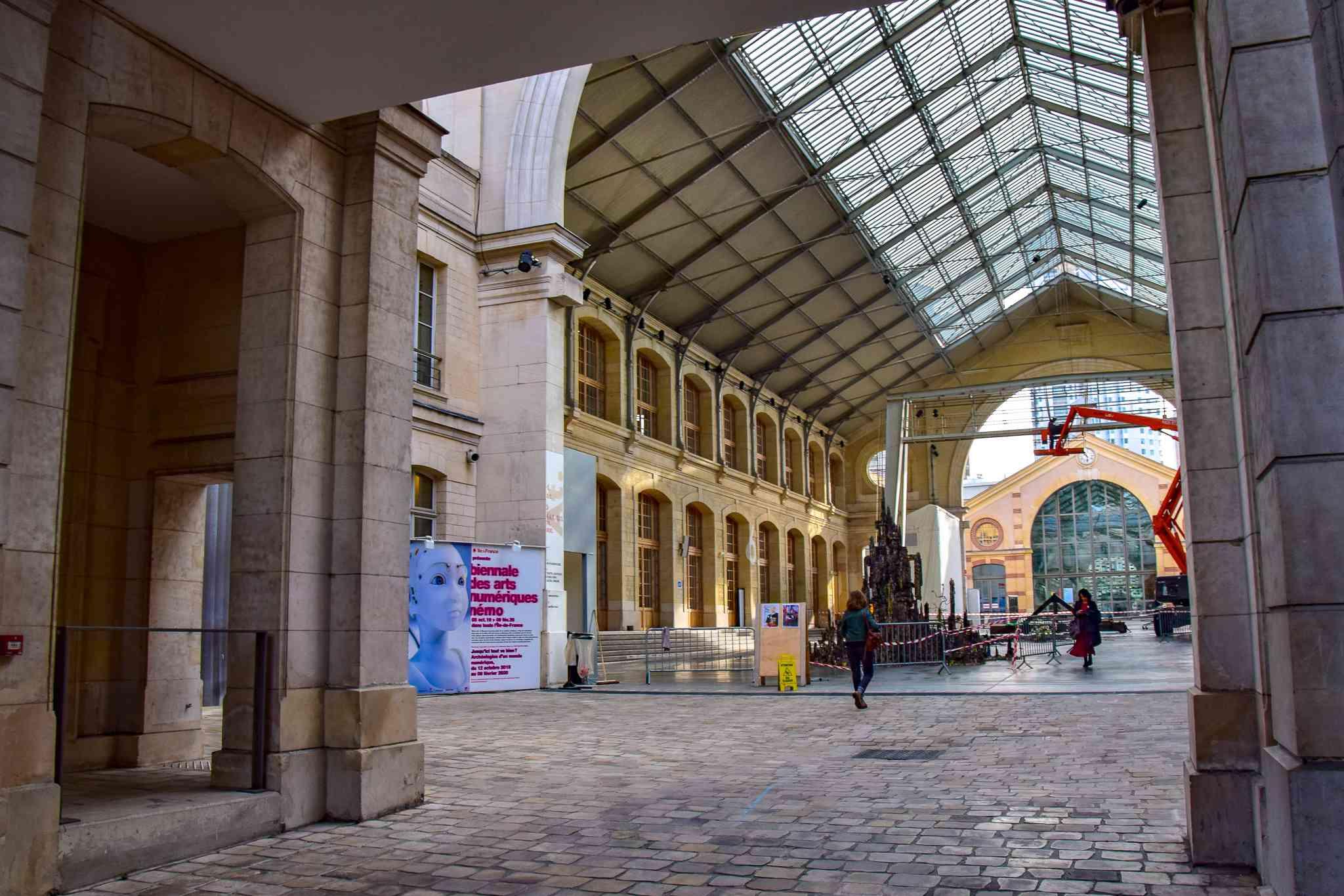Le Centquatre in Paris, France