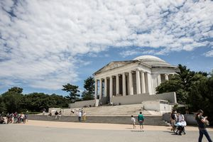 Exterior of the Jefferson Memorial