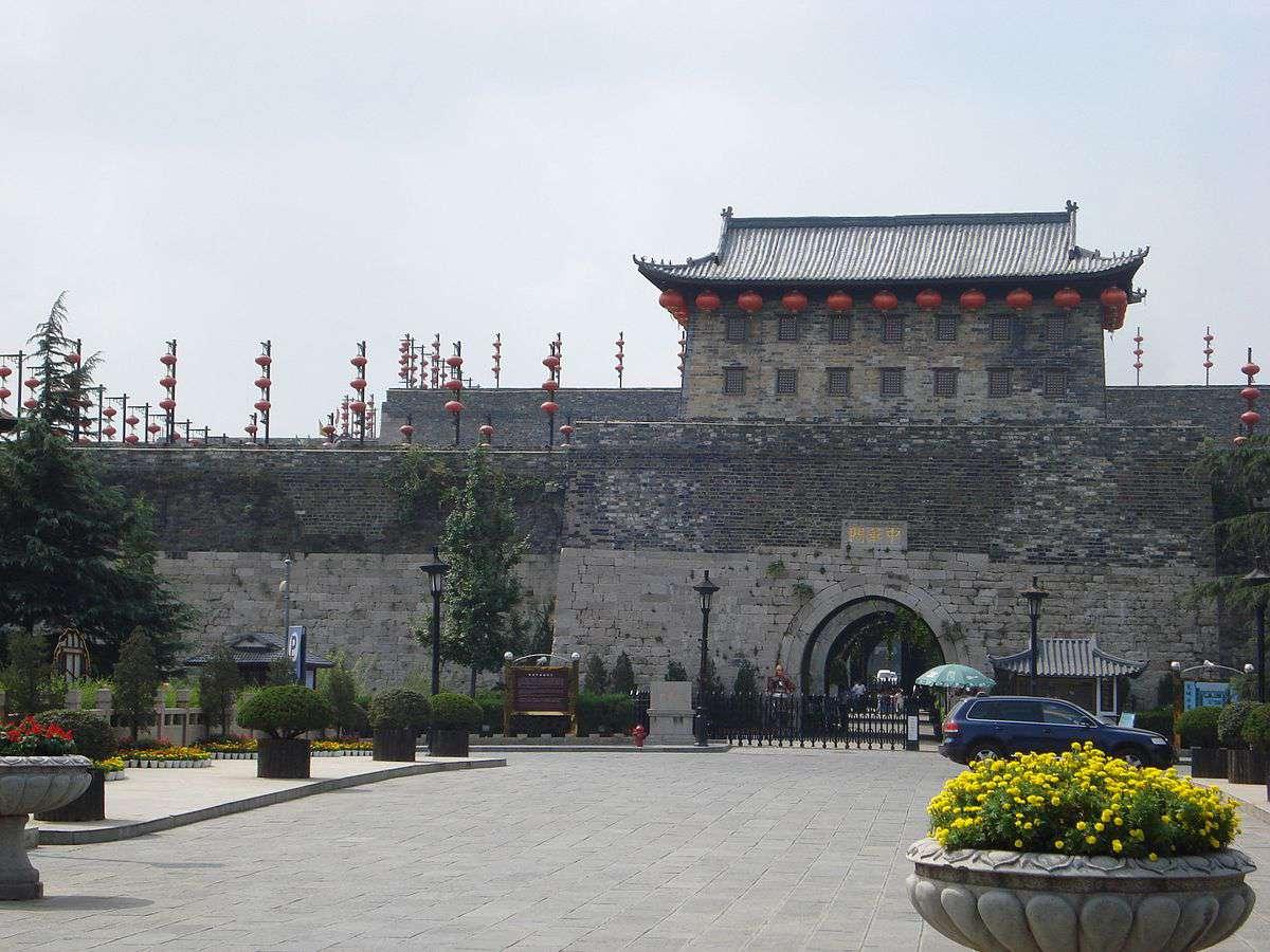Nanjing's Zhonghua Gate