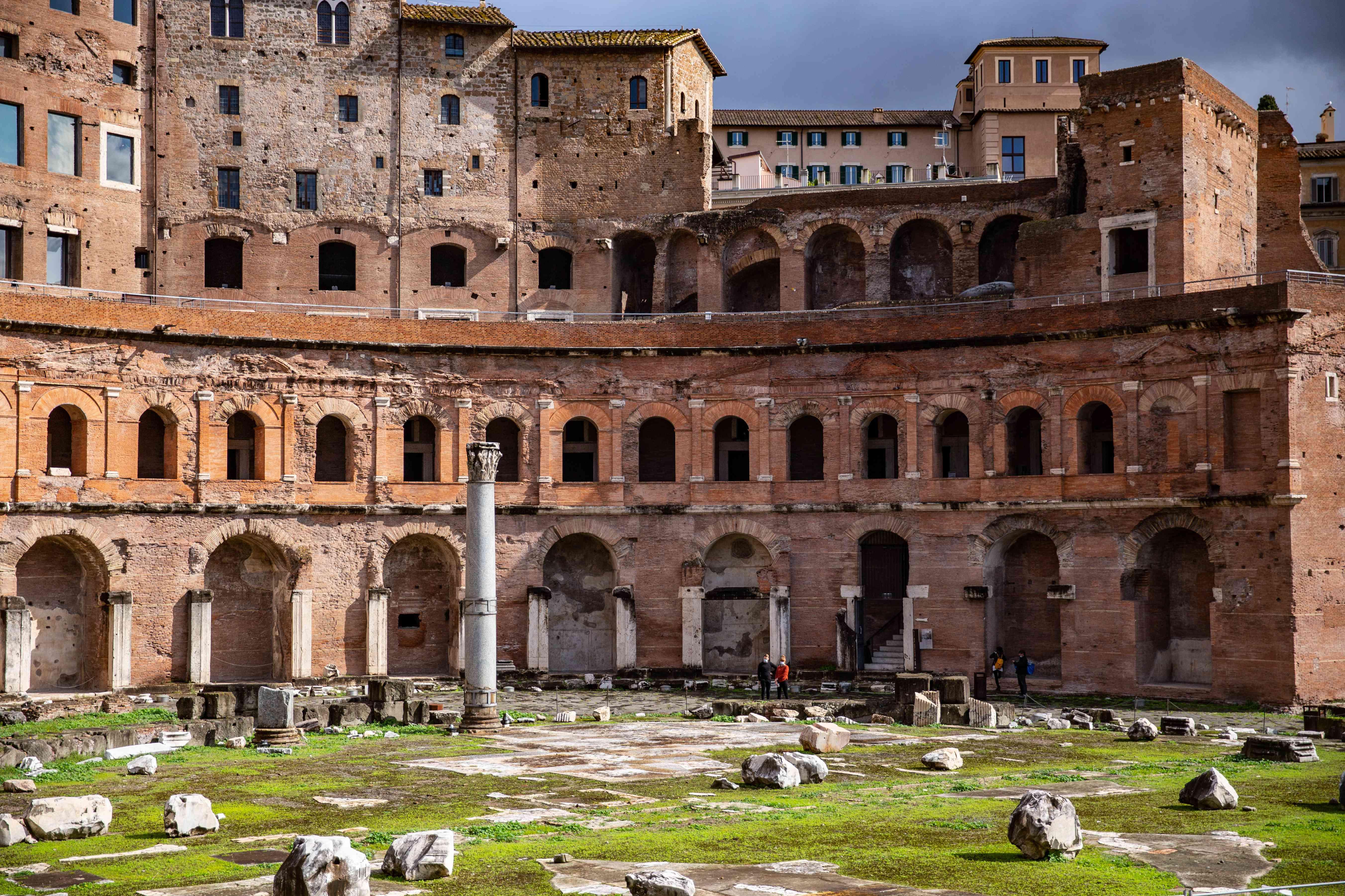Trajan's Market, Mercati di Traiano, Rome, Italy