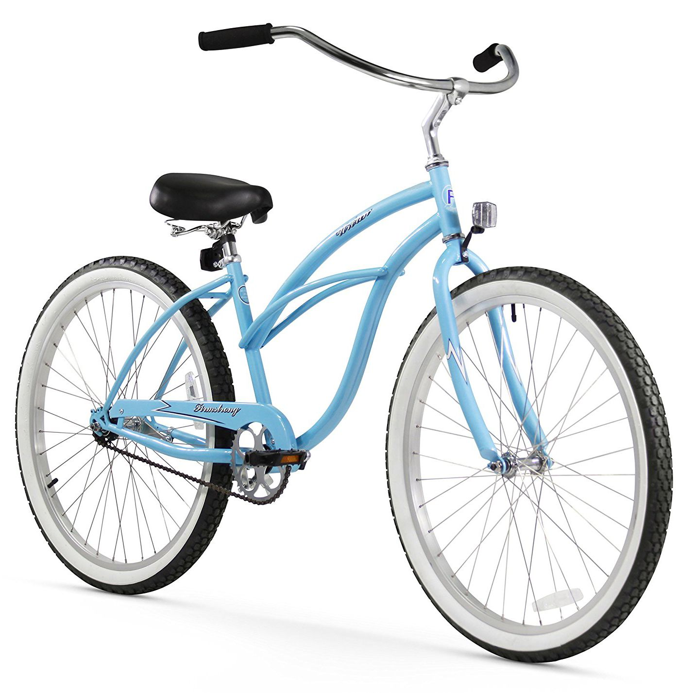 """Mens Bike Beach 26/"""" Bicycle Ride  Light Weight Alloy Wheels Cycling"""