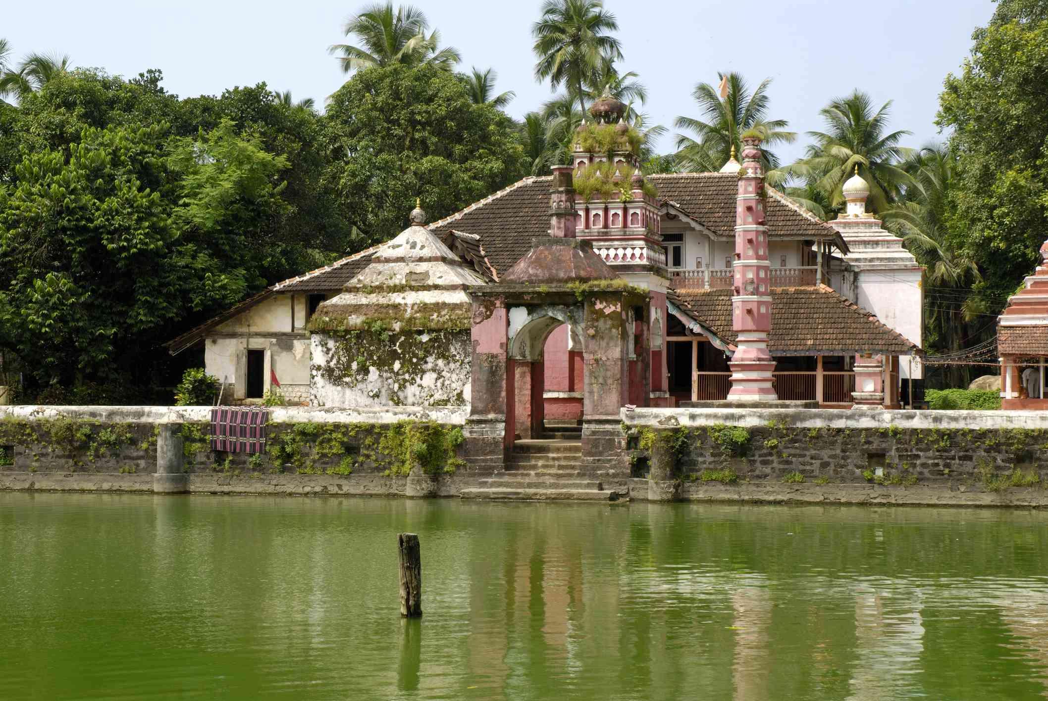 Rameshwar temple at Chaul, Alibaug