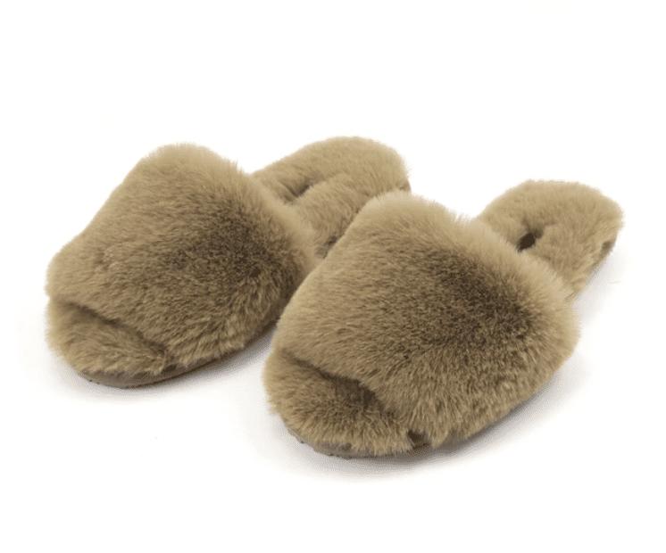 Twelve AM So Good Fluffy Slippers