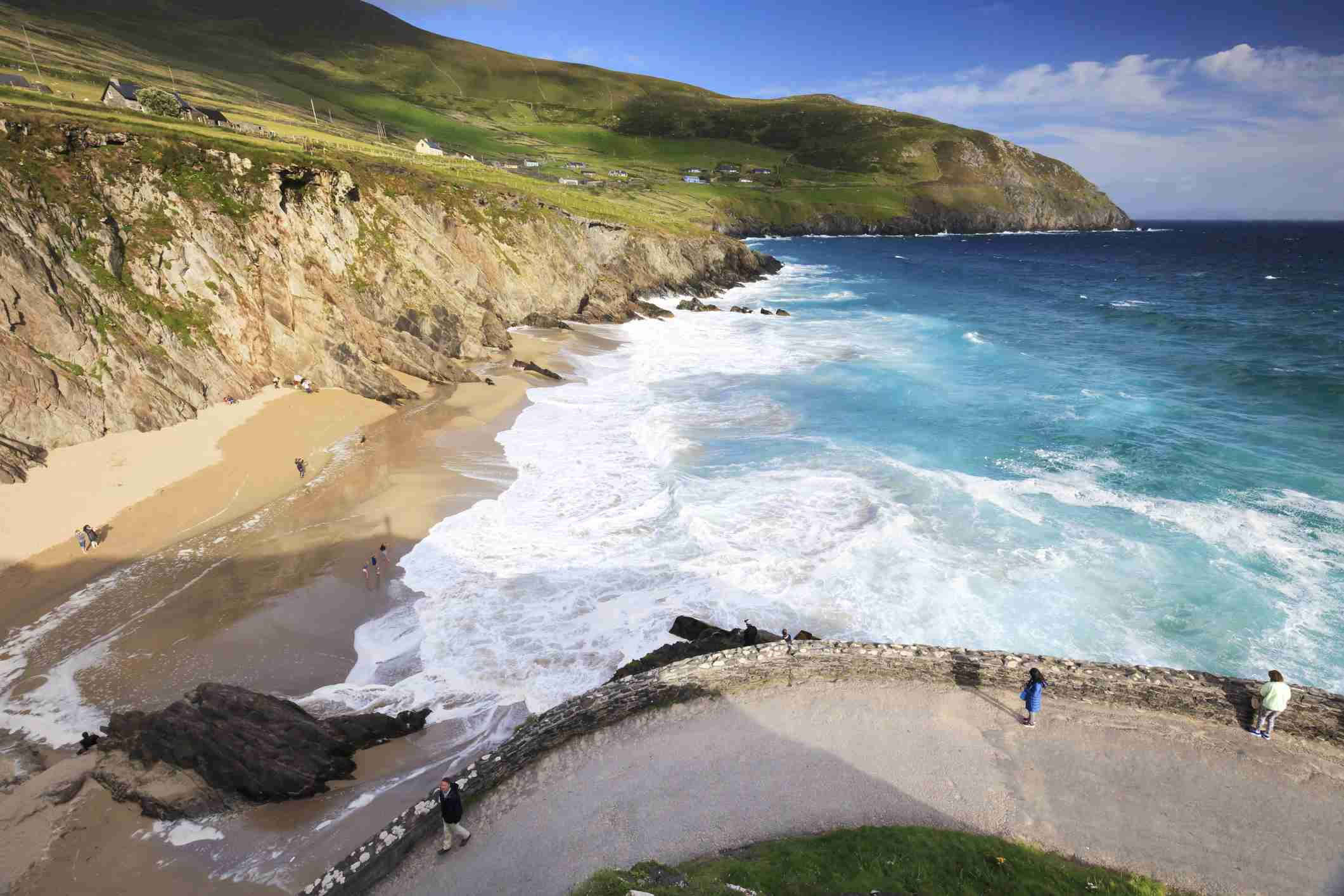 beach at Sea Head, Dingle peninsula, ireland