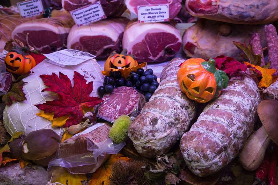 Halloween in Padova in the Veneto Region of Italy