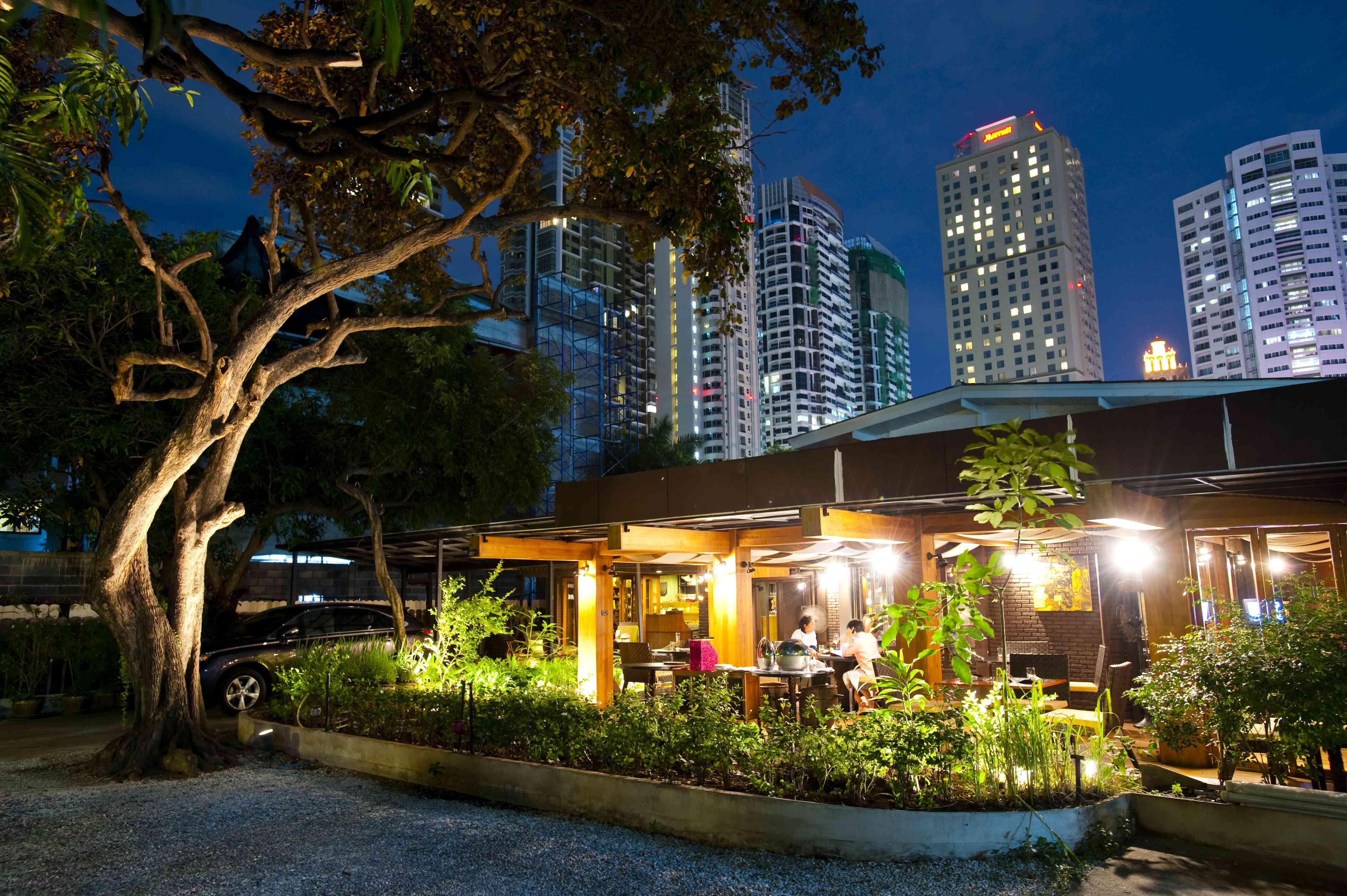 The Bo.Lan restaurant in Bangkok