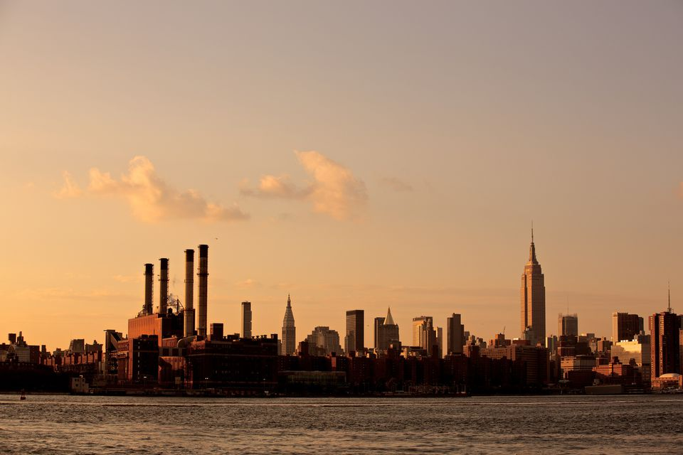 View of Manhattan from Williamsburg, Brooklyn
