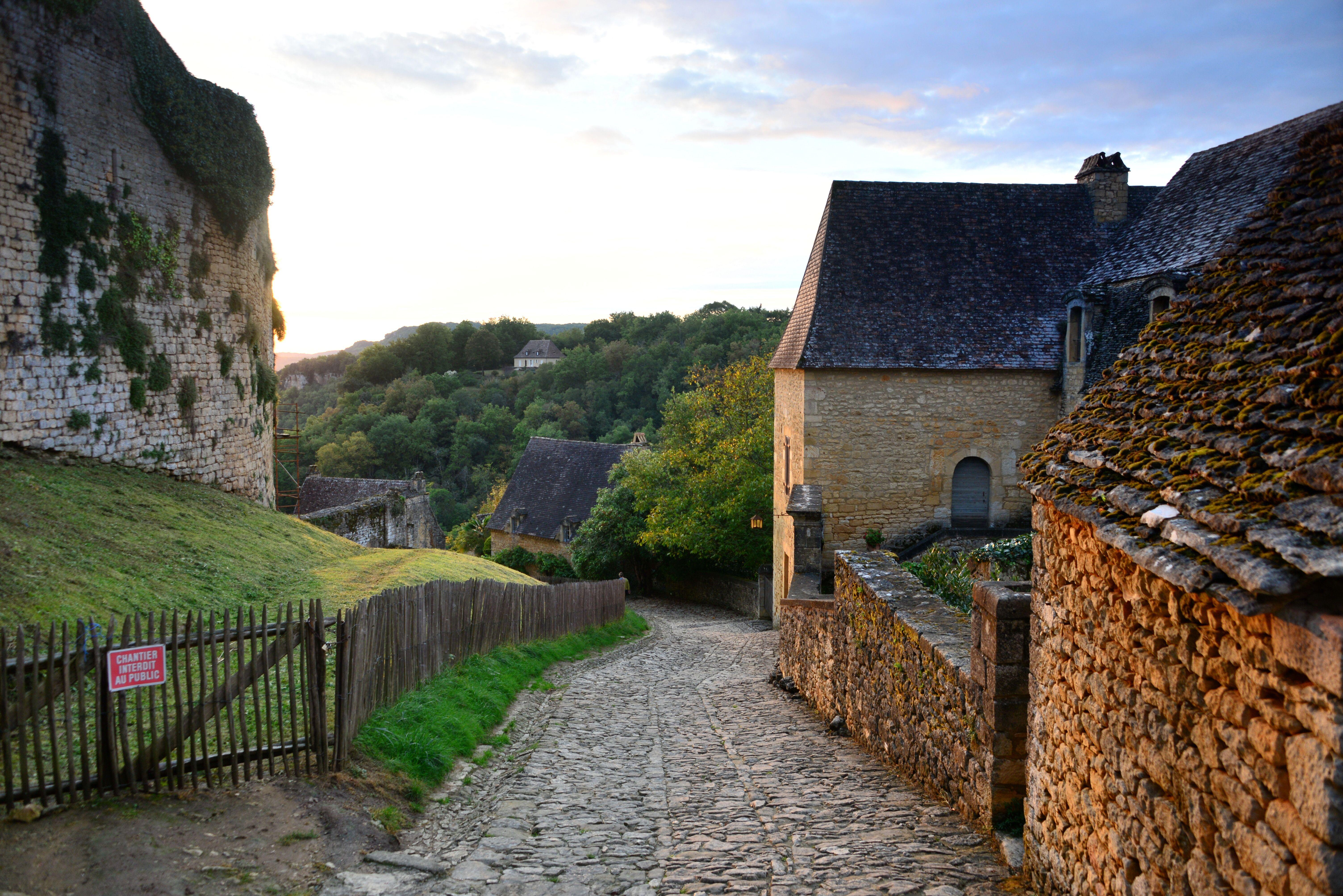 In Beynac-et-Cazenac in the Dordogne valley, Perigord, Dordogne, Aquitaine, West-France, France